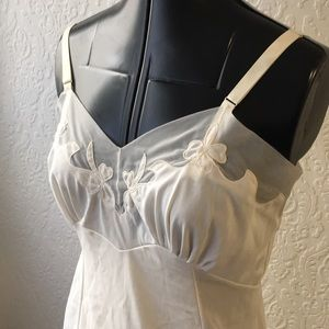 Vintage cream colored slip